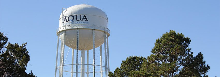 Overview | Aqua Water Supply Corporation | Providing water and